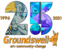 Groundswell 25th annanniversary logo